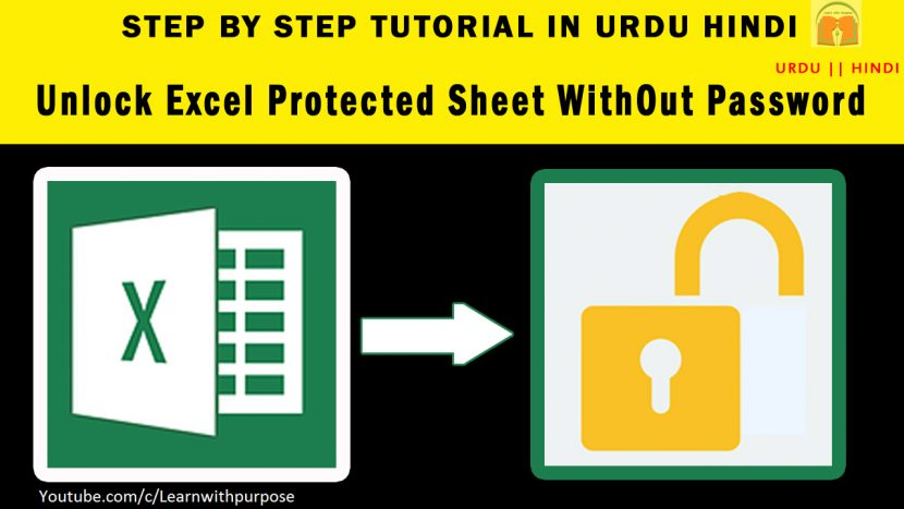 How To Unprotect Unlock Excel Password Protected Sheet 100