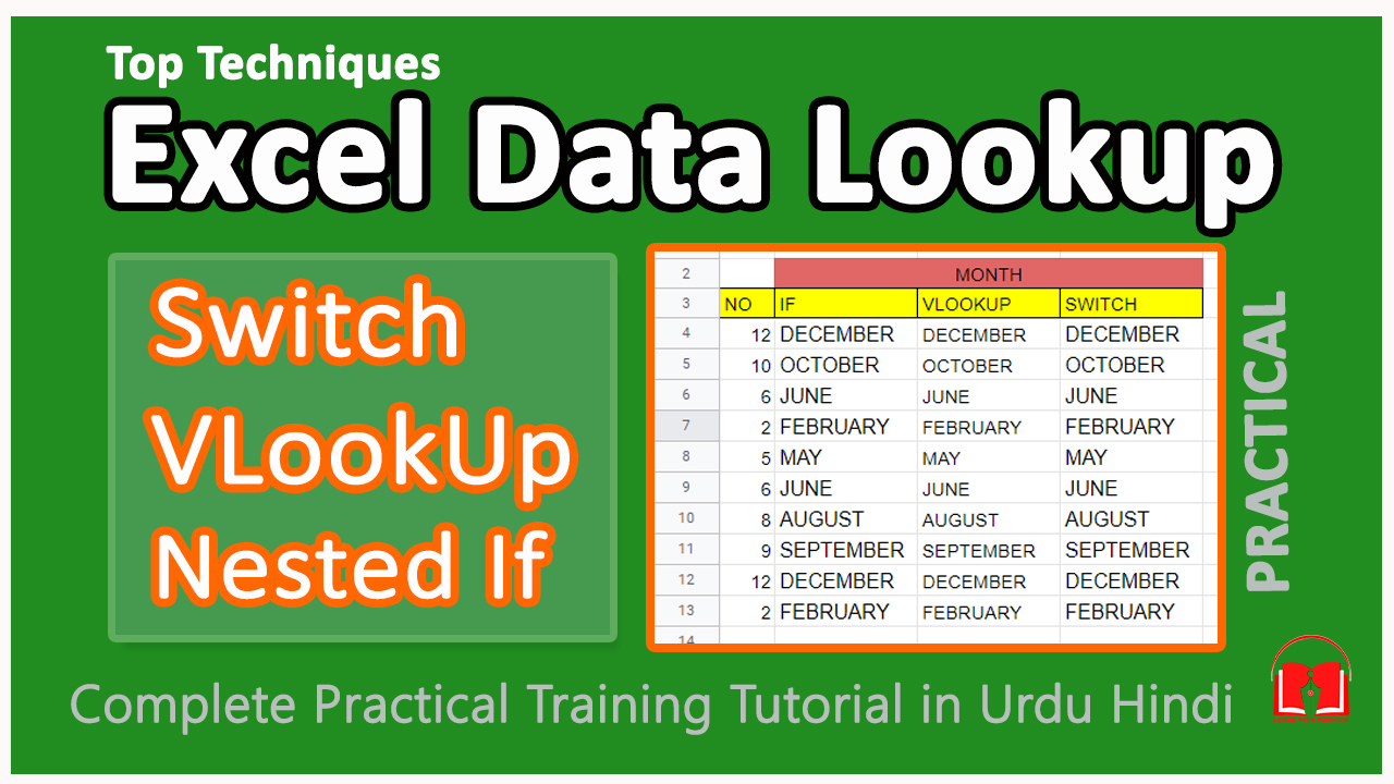 Top Data Lookup Formulas Nested if    Vlookup    Switch in Excel ...